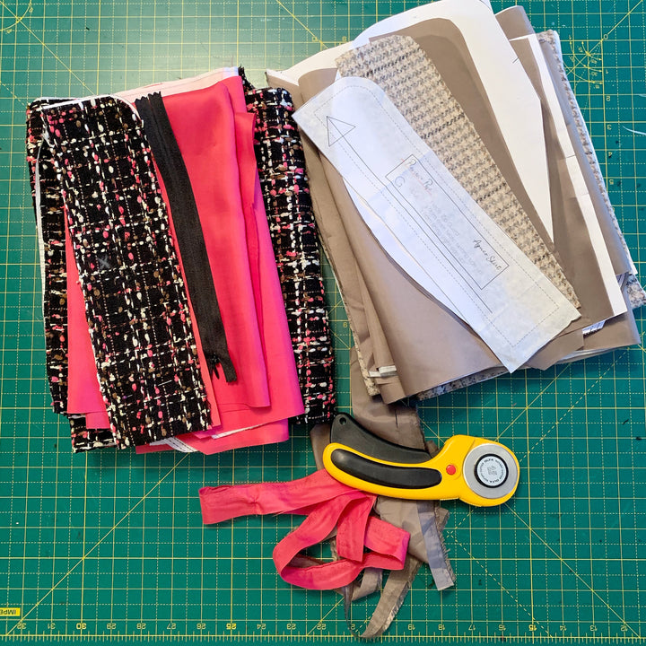 Agnes Sew Along (2): Cutting and Marking