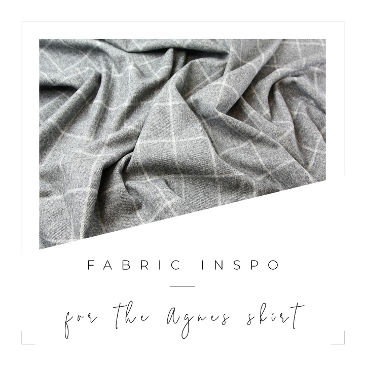 Fabric Edit: Inspiration for the Agnes Skirt
