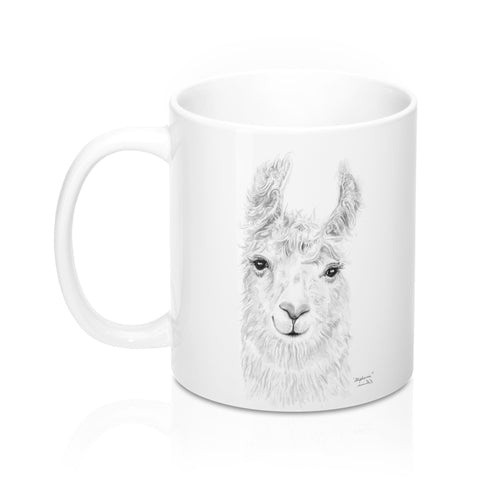 Personalized Llama Mug - STEPHANIE