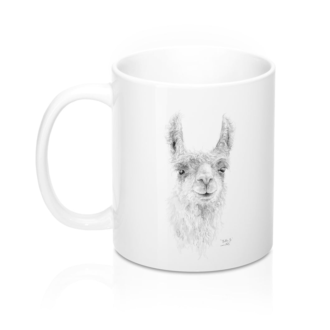 Llama Name Mugs - BILLIE-JO
