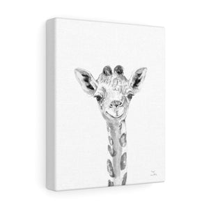 Gigi Giraffe - Animal Art Canvas