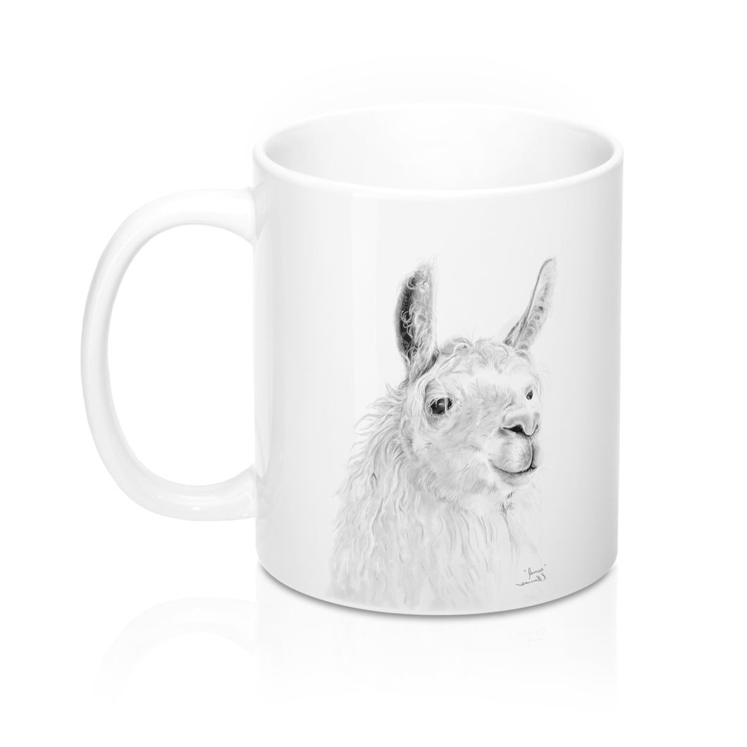 Personalized Llama Mug - JAMES