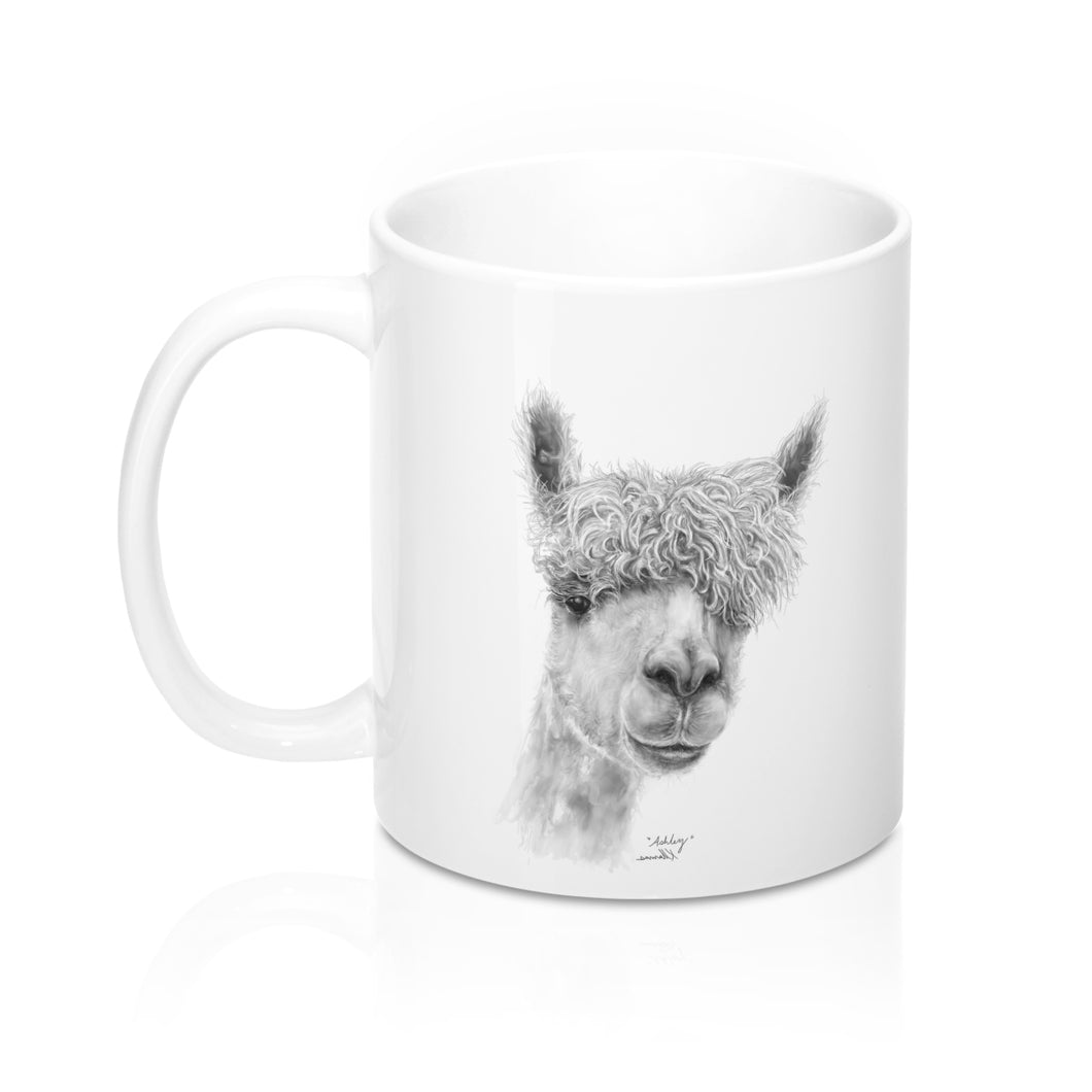 Llama Name Mugs - ASHLEY