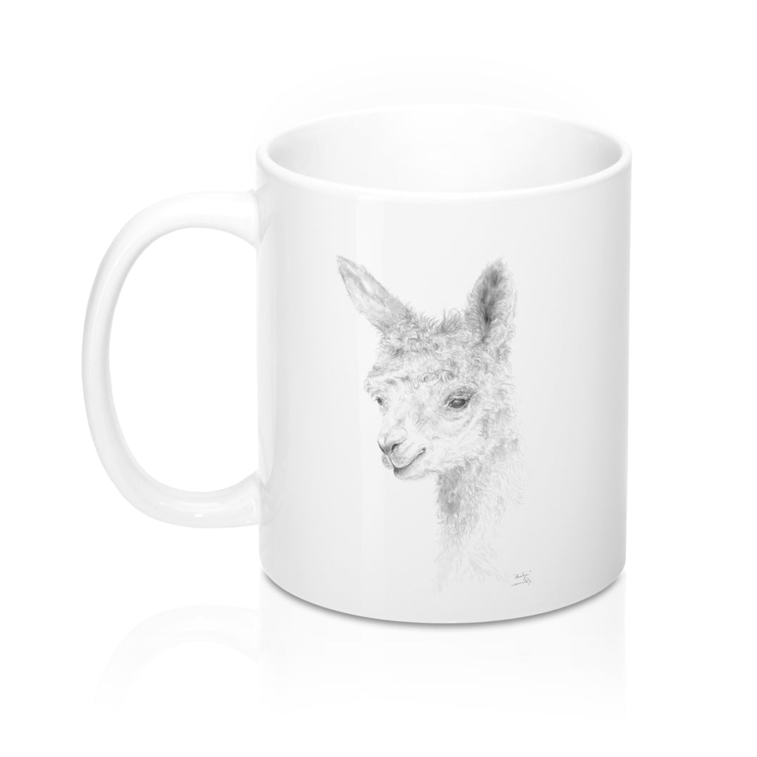 Llama Name Mugs - ANALYN