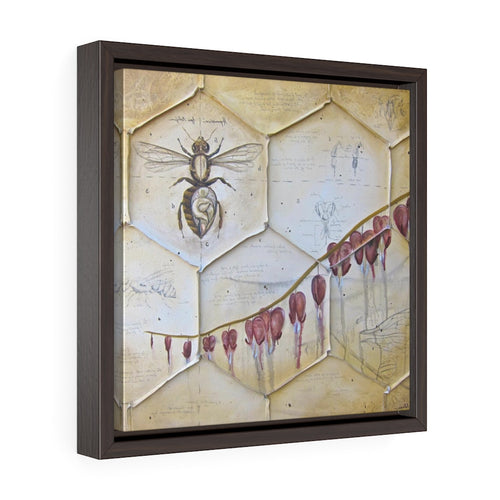 Square Framed Art Print | Lullaby: Colony Collapse Disorder