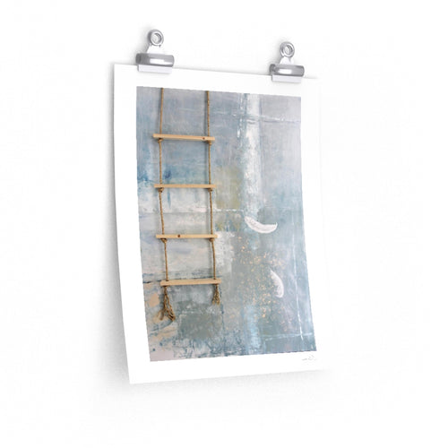 Ladder 298: Float - K. Llamas Wall Art Print
