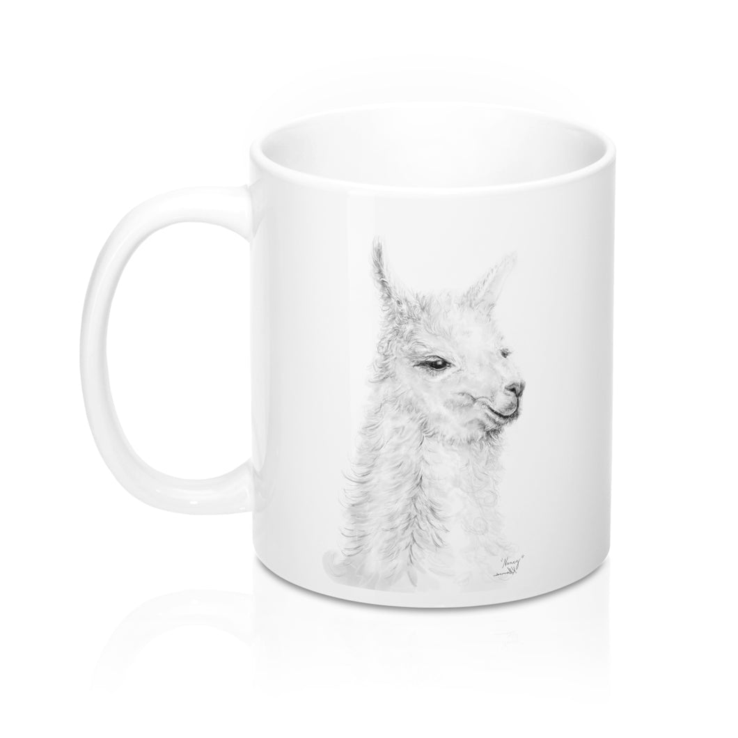 Personalized Llama Mug - NANCY
