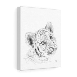Kiara Tiger - Animal Art Canvas