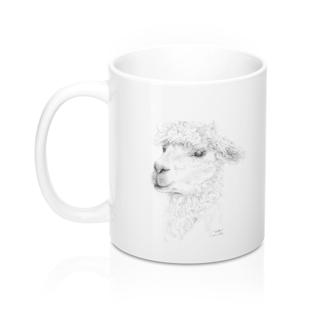 Personalized Llama Mug - HEATHER