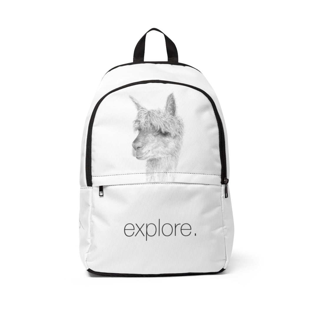Llama Backpack: EXPLORE