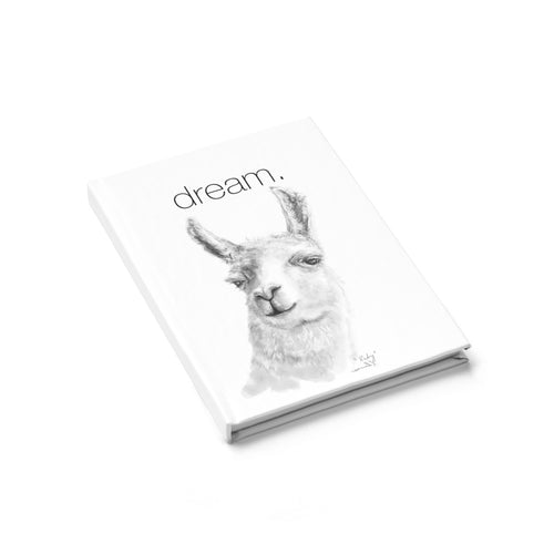Dream Llama Journal - Lined