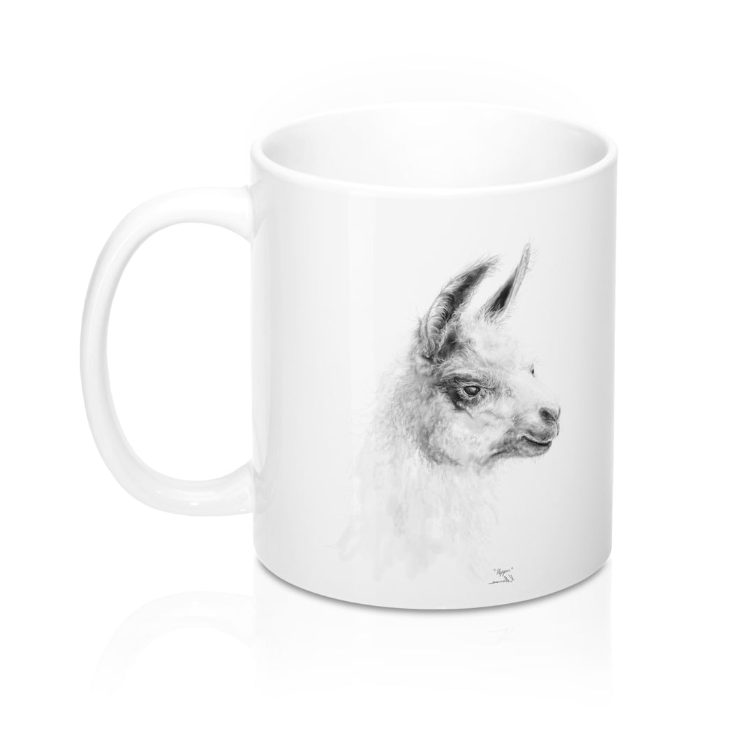 Personalized Llama Mug - PEPPER