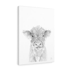 Harry Cow - Animal Art Canvas
