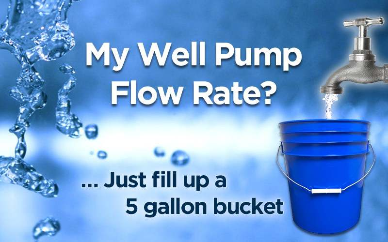 How To Test My Well Pump Flow Rate