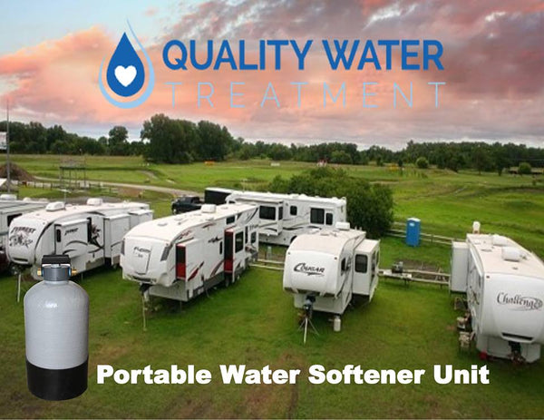 best RV water softener while on the go