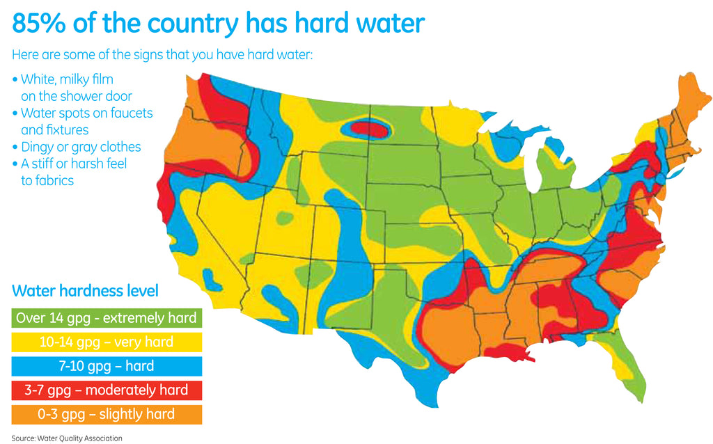 Water Hardness By City & Zip Code