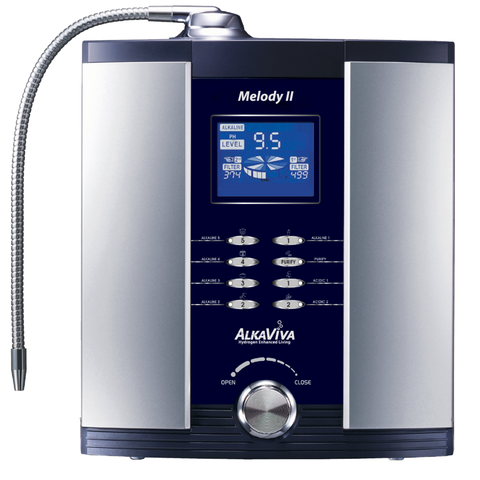 Water Ionizer Melody II by AlkaViva - Alkaline Water Machine