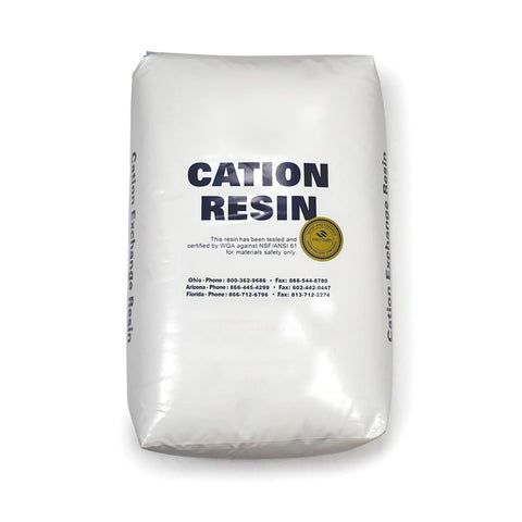 10% Cation Resin, Premium Crosslink
