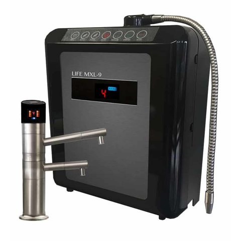 Life Water Ionizer MXL-9 Under Counter Alkaline Water Ionizer Hydrogen Machine