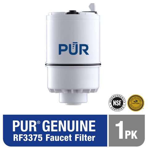 PUR Water Filter Replacement (1 Filter) - 2 Stage PUR Faucet Filter (RF-3375-1)