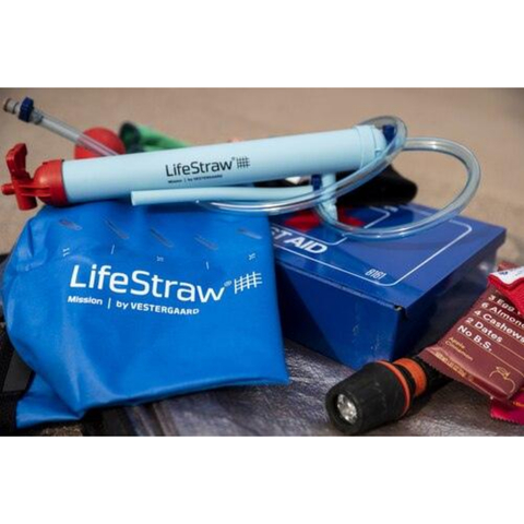 LifeStraw MISSION - Life Straws Personal Water Filter