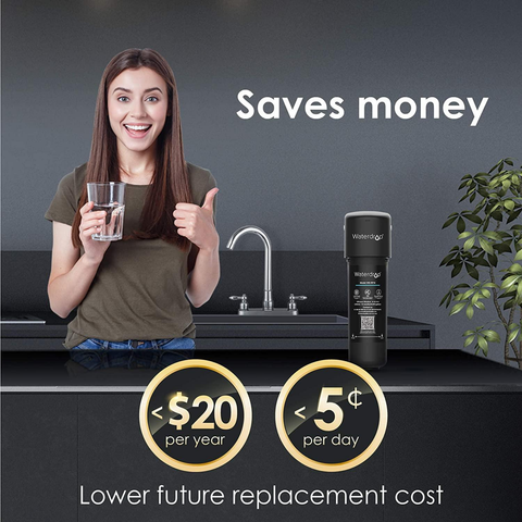 WaterDrop Water Filter | Under Sink Direct Connect Filtration System