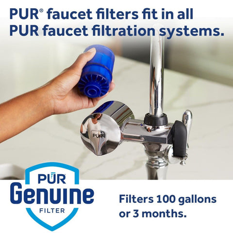 PUR Water Filter Replacement (3 Pack) - MineralClear PUR Faucet Water Filter (RF99993)