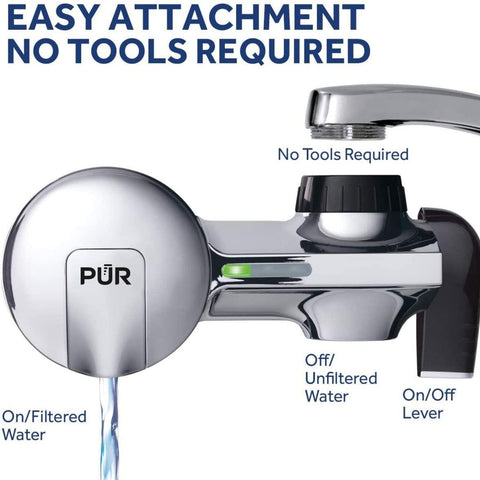 PUR Water Filter - Advanced PUR Faucet Filter (PFM400H)