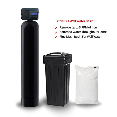 Fleck 2510SXT Water Softener System for Well Water (2510 SXT)