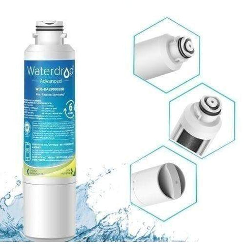 GE Refrigerator Water Filter Replacement by WaterDrop