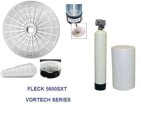 Fleck 5600 SXT Water Softener With Vortech Technology