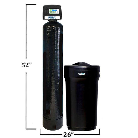 "SoftPro®Pura Optimus Water Softener, Is A Upflow High Efficiency Water Softener, Great For The Average Size Home With 3/4"" Plumbing."