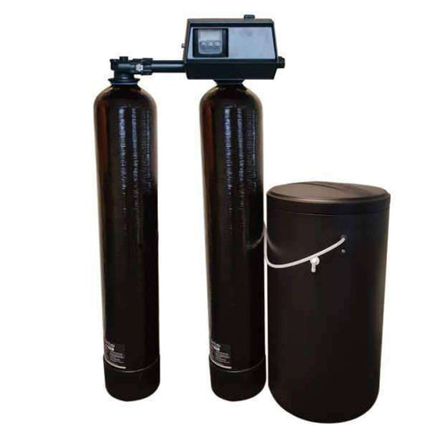 Water Softener, Fleck 9100sxt Twin Meter On Demand Water Softener