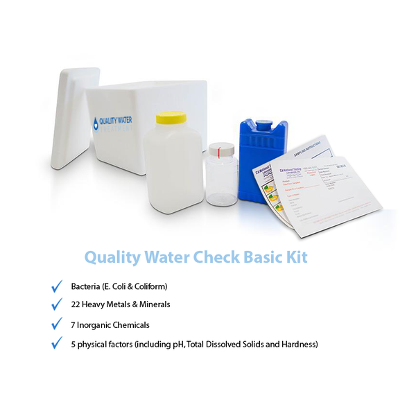 Well Water Testing Kit by QWT (Basic)