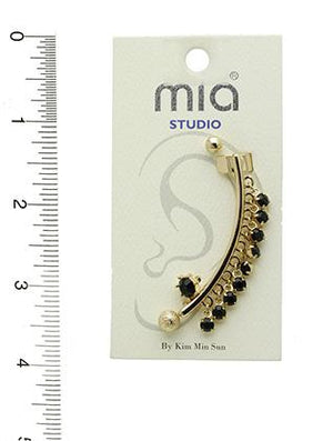 4 Pc Stud Cuff Earrings