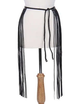 SHIMMY AND SHAKE FRINGE BELT