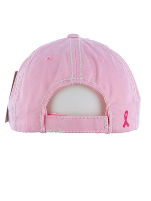 FIGHT BREAST CANCER BASEBALL