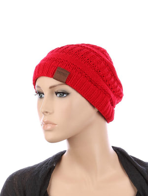 Knit Winter Beanie Hat And Cap