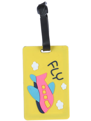 Airplane Rubber Bag Tag General Merchandise