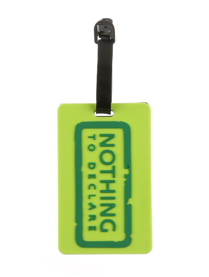 NOTHING TO DECLARE LUGGAGE TAG