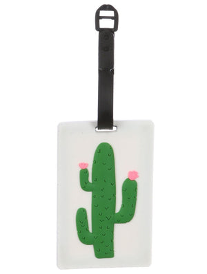 Cactus Rubber Bag Tag General Merchandise