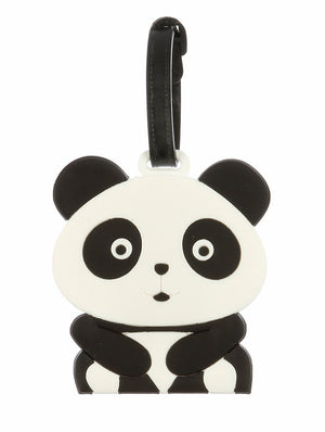 Panda Bear Rubber Bag Tag General Merchandise