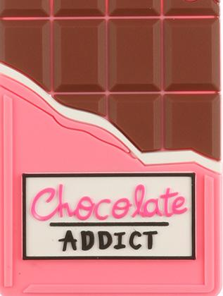 Chocolate Addict Rubber Bag Tag General Merchandise