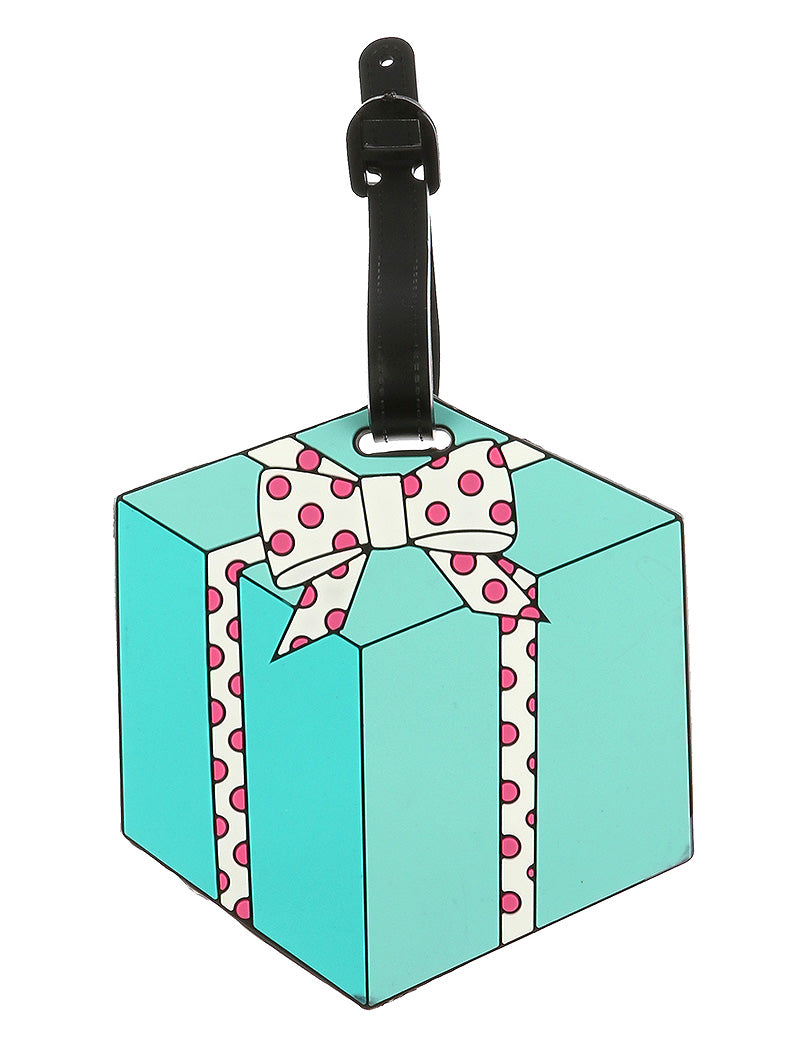GIFT BOX LUGGAE BAG TAG