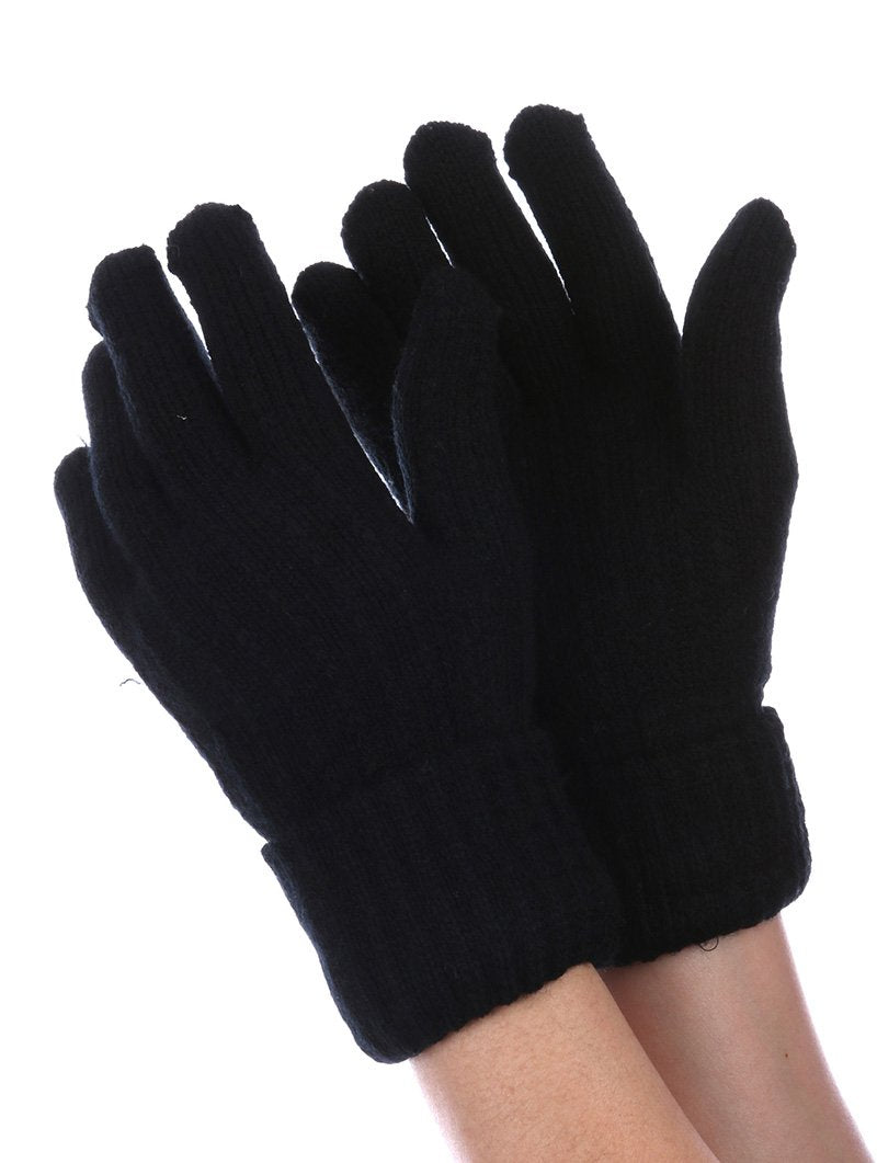 Double Layered Knitted Gloves