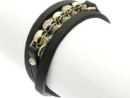 Clip Leather Bracelet