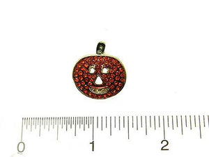 HAPPY PUMPKIN STUD EARRINGS