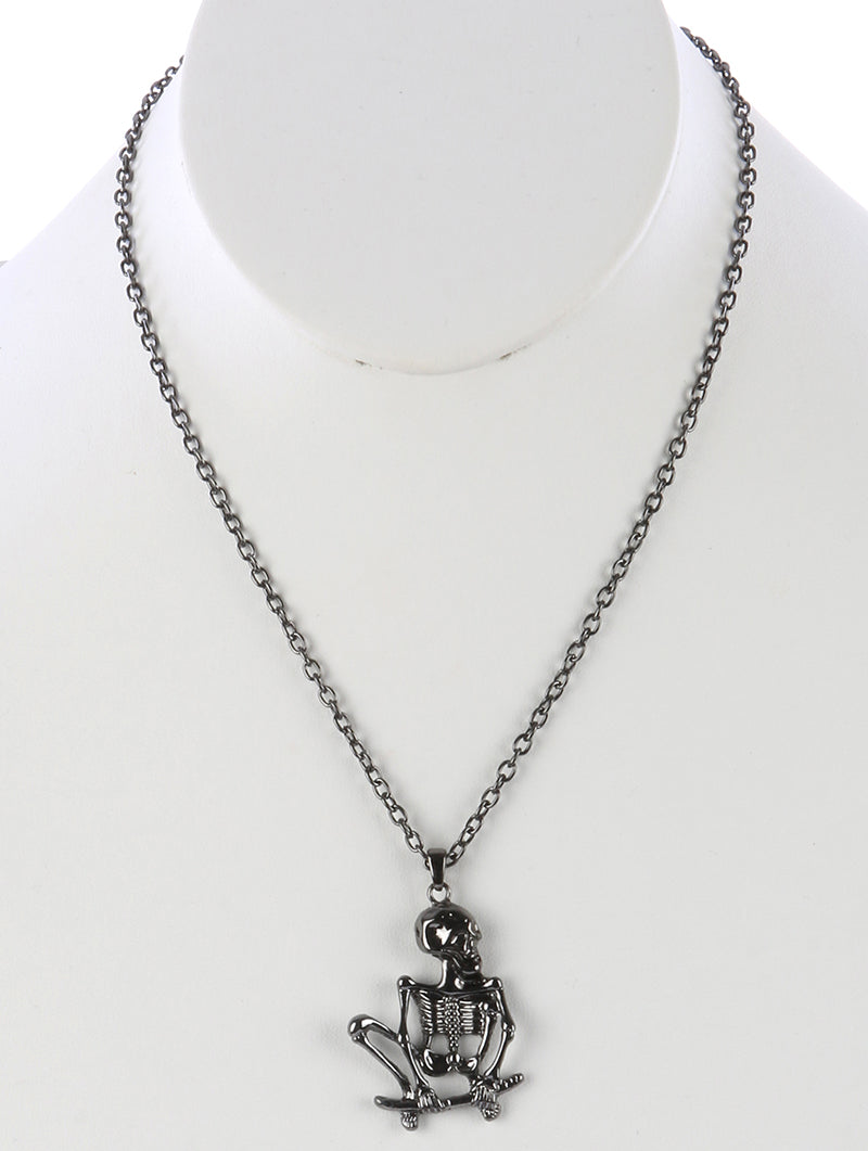 SKULL SKELETON NECKLACE