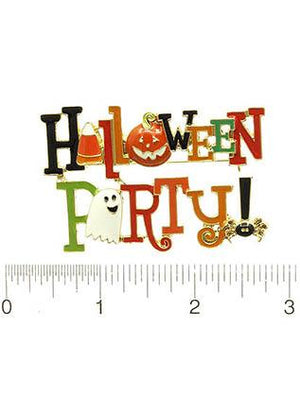 HALLOWEEN PARTY PIN BROOCH