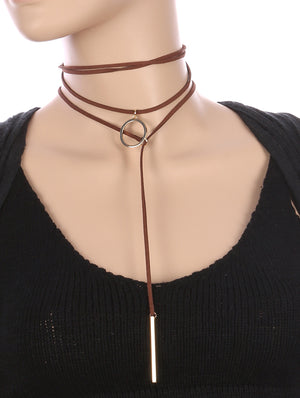 CIRCULAR 2 PC PULL THROUGH CHOKER